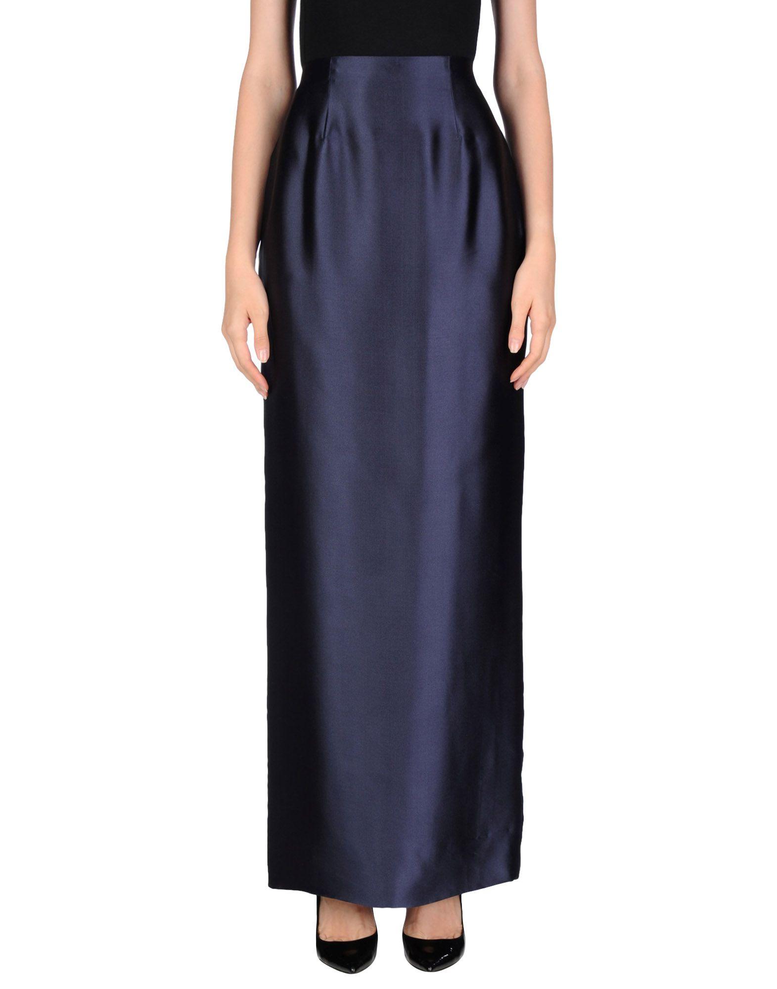 OSCAR DE LA RENTA Длинная юбка miss 0 by oscar de la renta vintage шерстяная юбка 80 е