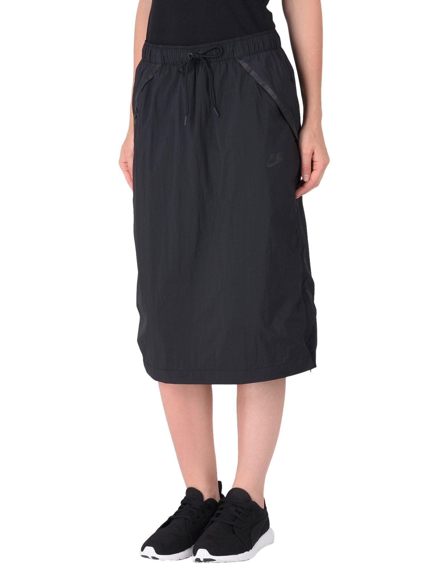 NIKE Юбка длиной 3/4 nike мини юбка