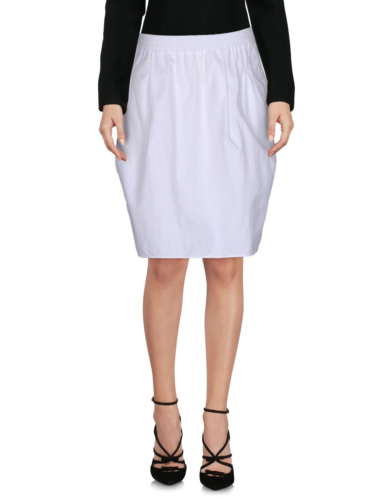 CHALAYAN Юбка до колена chalayan платье до колена
