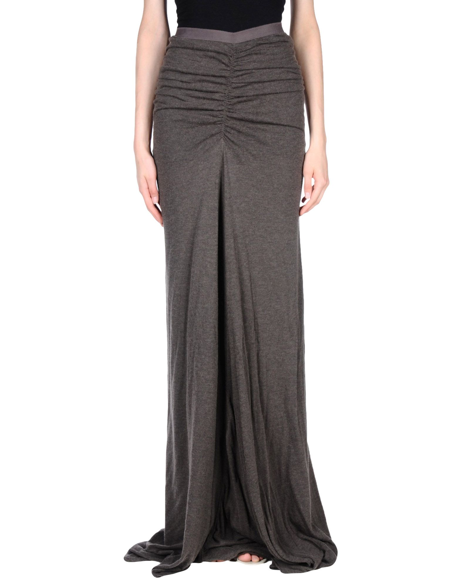 цена  RICK OWENS LILIES Длинная юбка  онлайн в 2017 году