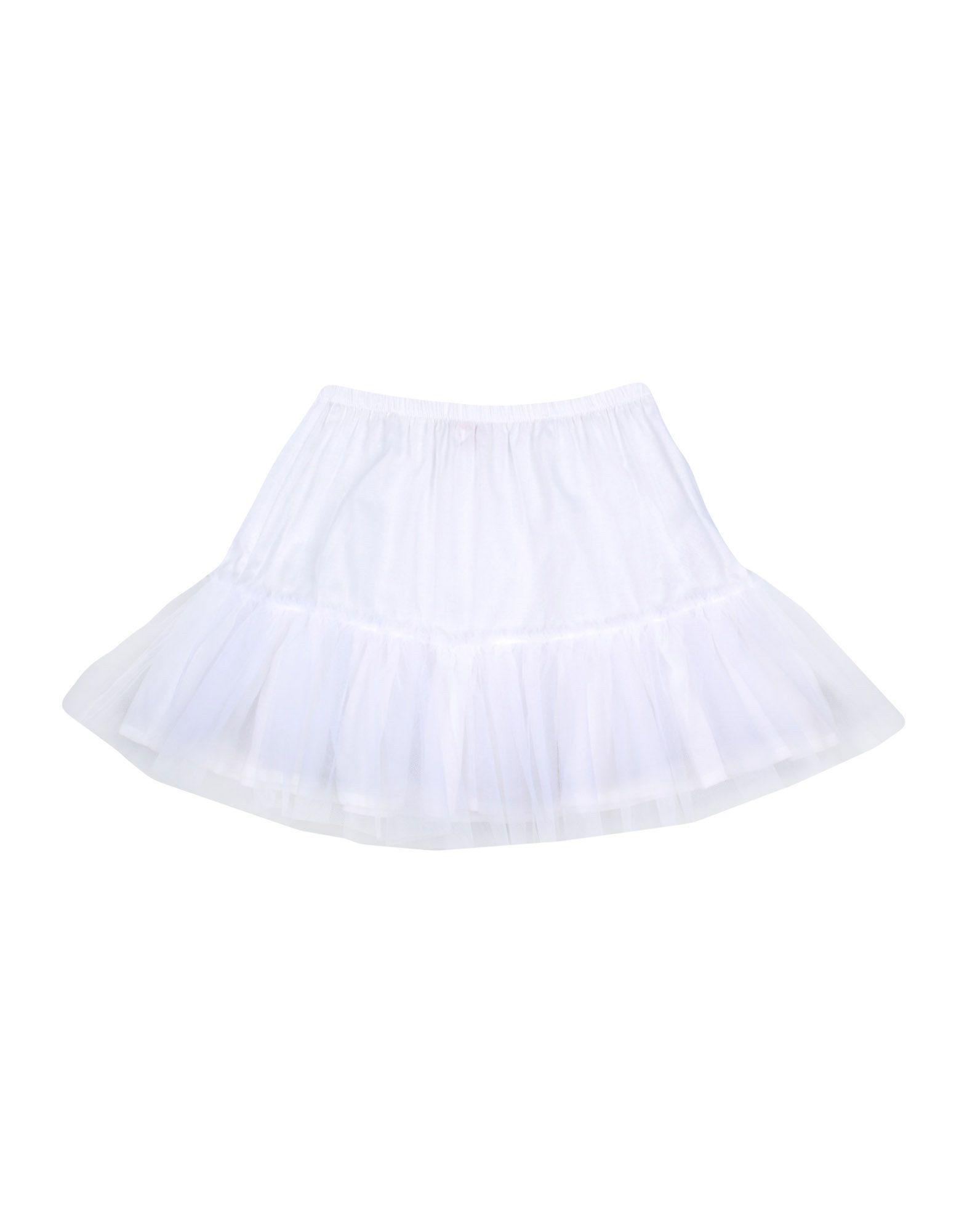 《期間限定 セール開催中》IL GUFO ガールズ 3-8 歳 スカート ホワイト 4 コットン 100% / ナイロン