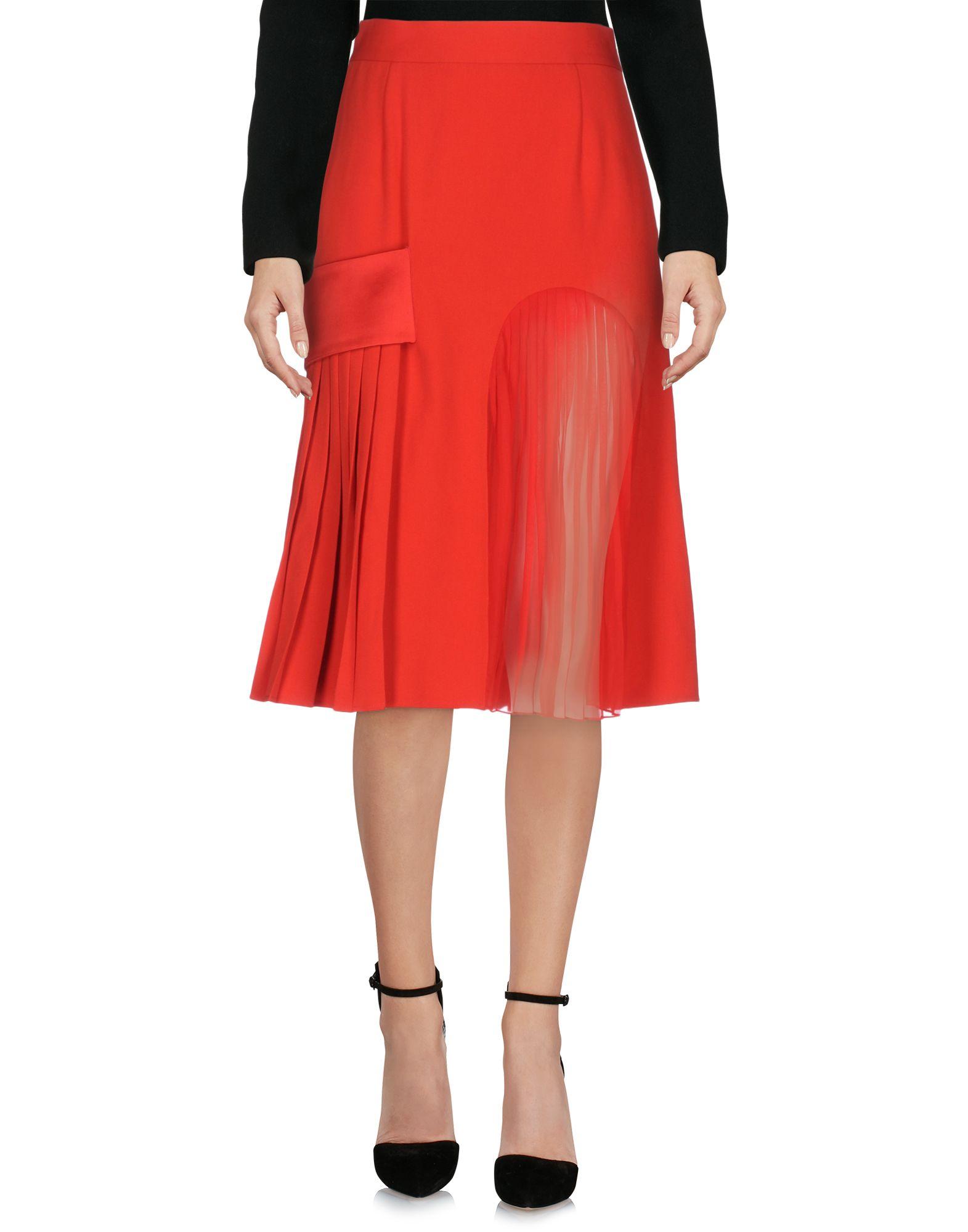 GIVENCHY Юбка длиной 3/4 givenchy платье длиной 3 4