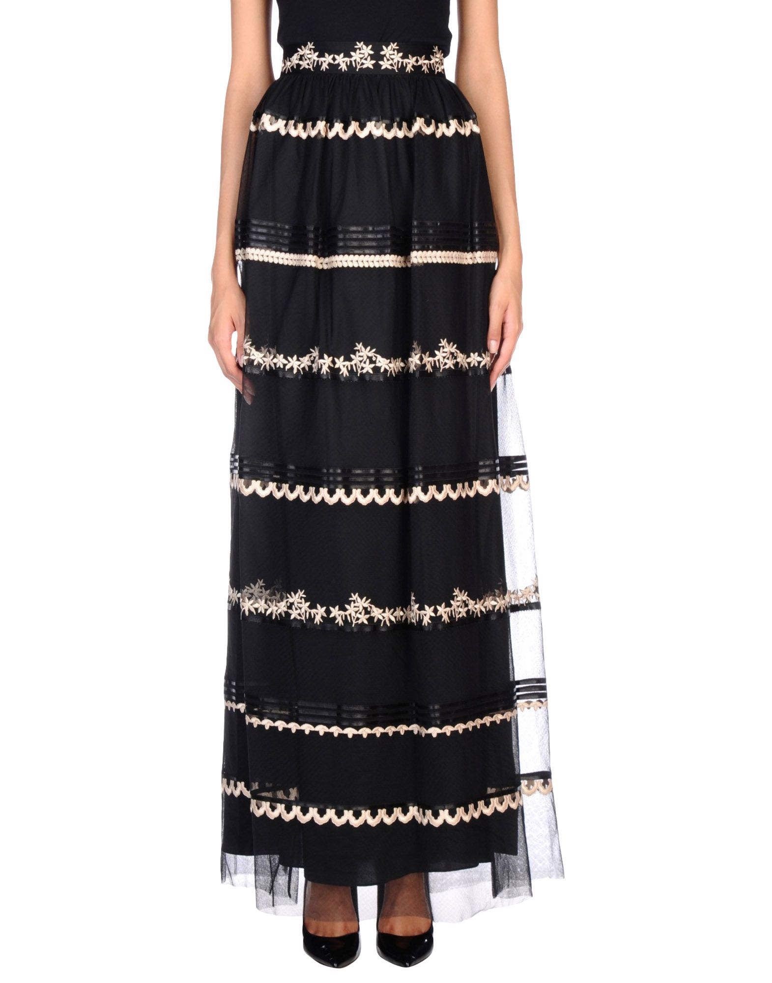 где купить  TEMPERLEY LONDON Длинная юбка  по лучшей цене