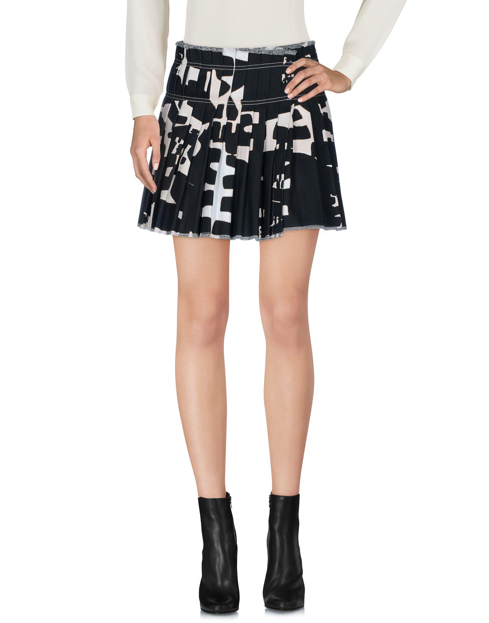 Фото - ISABEL MARANT Мини-юбка 12storeez юбка миди со складками спереди