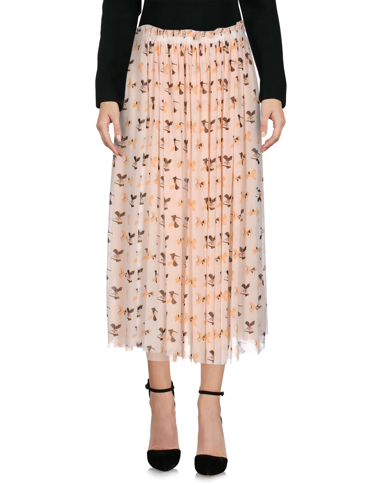 ATOS ATOS LOMBARDINI Юбка длиной 3/4 violet atos lombardini юбка длиной 3 4
