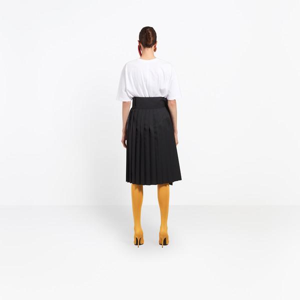 BALENCIAGA Skirt D Tubular Pleated Skirt h
