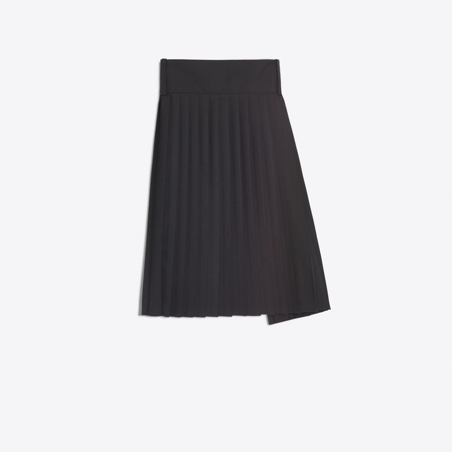 BALENCIAGA Tubular Pleated Skirt Skirt D d