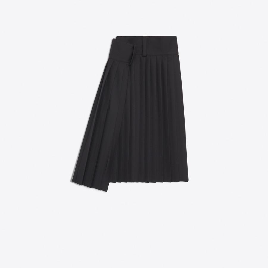 BALENCIAGA Tubular Pleated Skirt Skirt D f