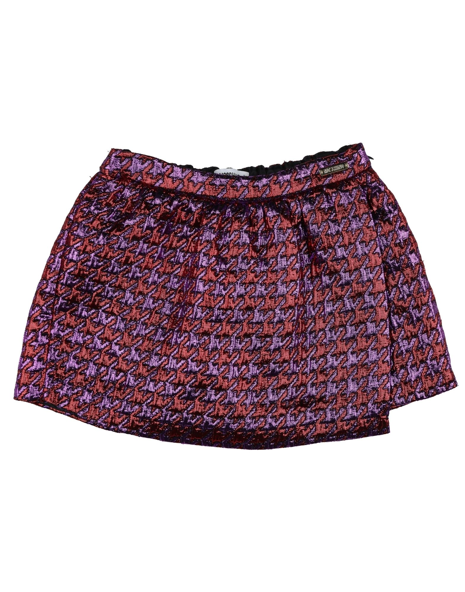 MOSCHINO KID Mädchen 3-8 jahre Rock Farbe Violett Größe 6