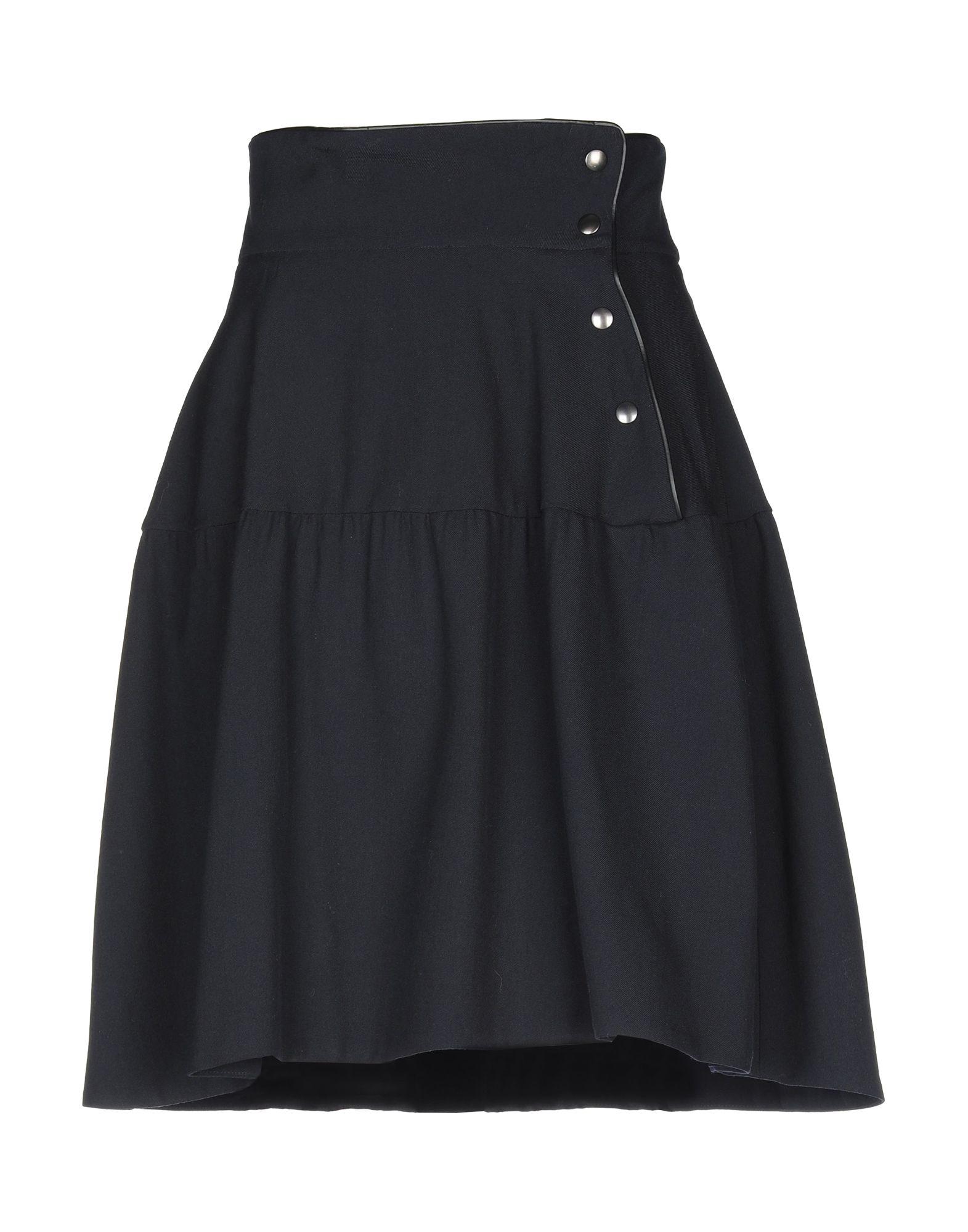 MARNI Юбка до колена marni хлопковая юбка с бантом