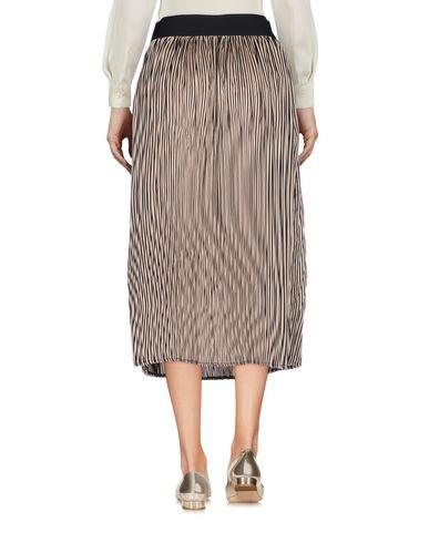 SOUVENIR Damen Midirock Beige Größe XS 100% Polyester