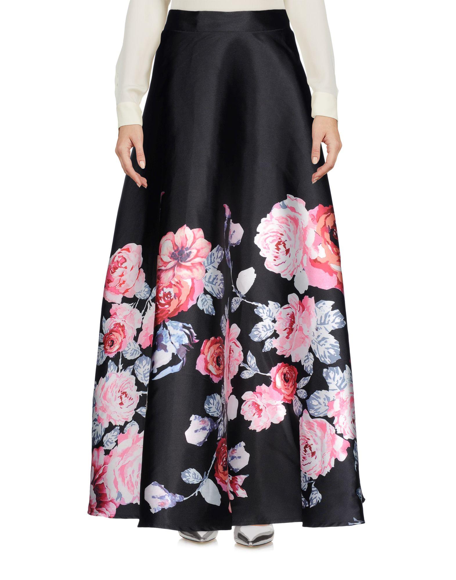 AMUSE Длинная юбка юбка amuse бежевый