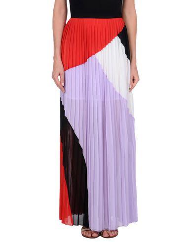 Фото - Длинная юбка сиреневого цвета