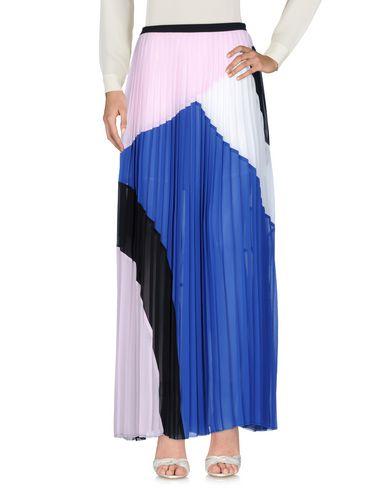 Фото - Длинная юбка синего цвета