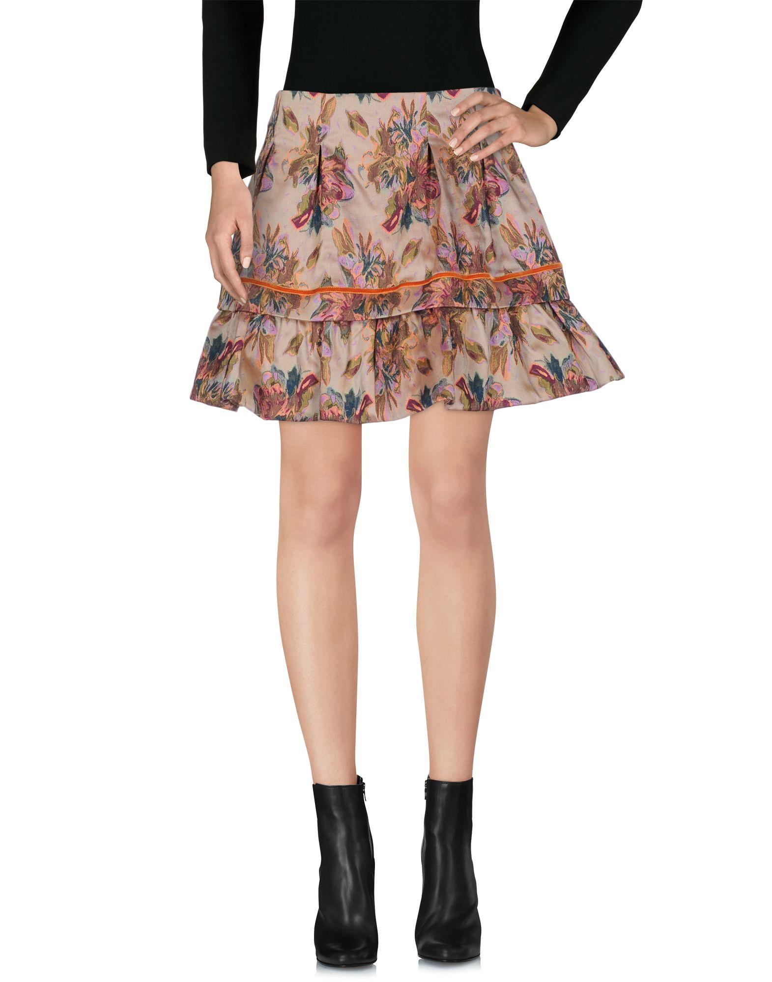 цена NOLITA Мини-юбка онлайн в 2017 году