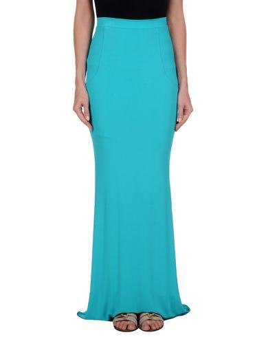 Фото - Длинная юбка бирюзового цвета