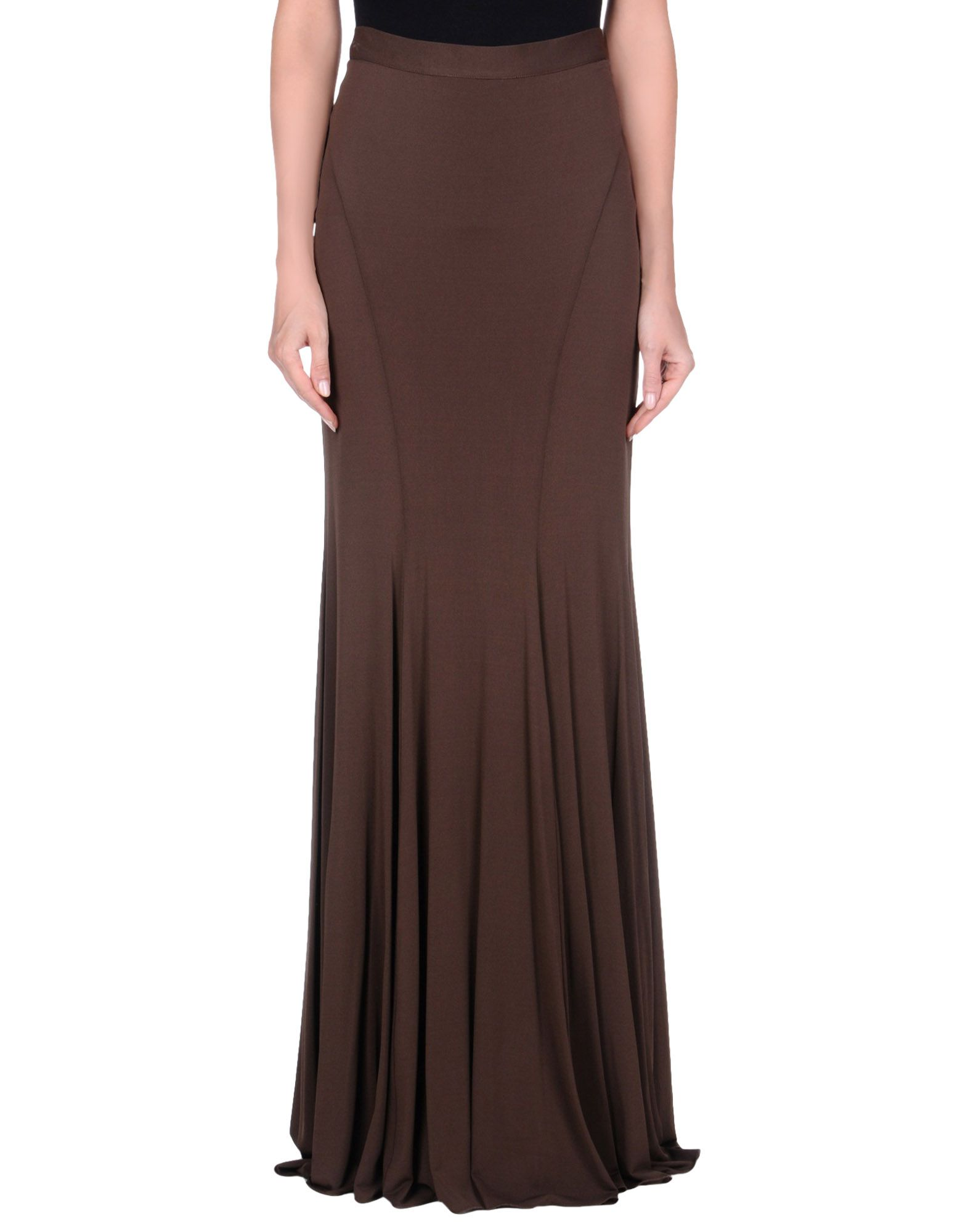 BLUMARINE Damen Maxirock Farbe Mittelbraun Größe 7 jetztbilligerkaufen