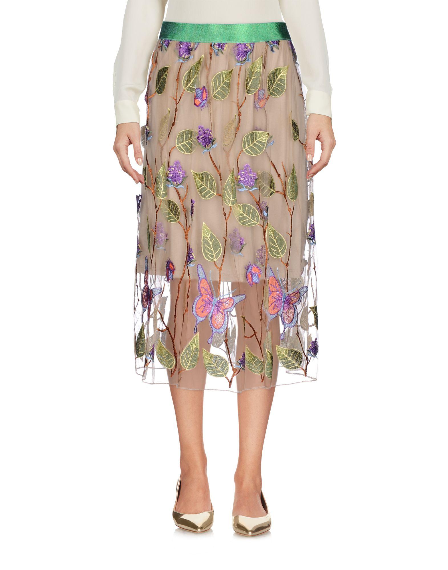MICHELA MII Юбка длиной 3/4 isaia юбка длиной 3 4