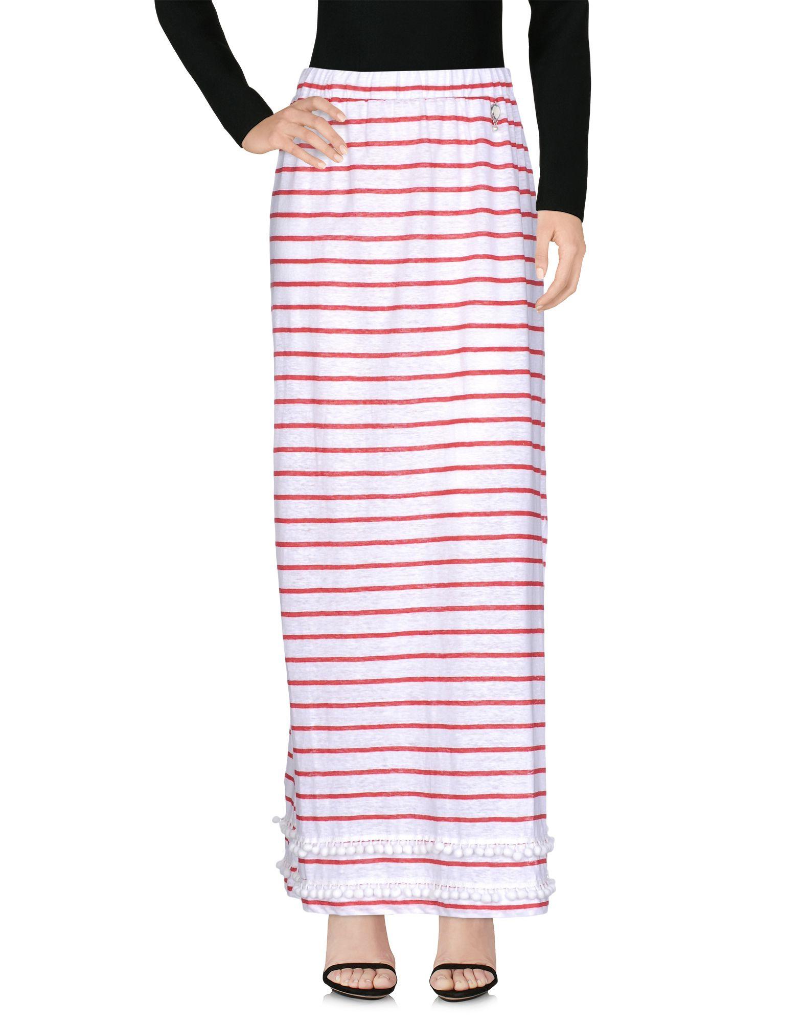 TWIN-SET JEANS Длинная юбка цена 2017