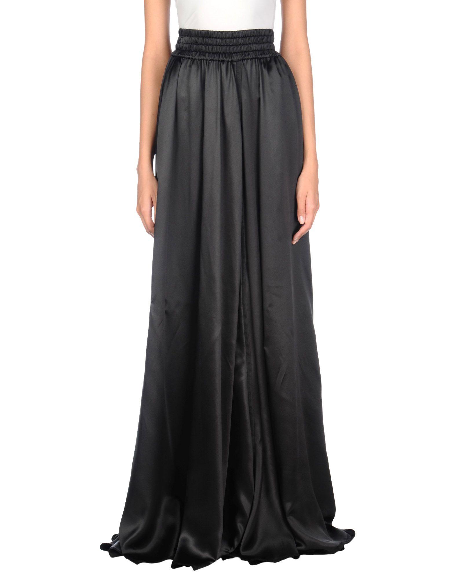 цена DOLCE & GABBANA Длинная юбка онлайн в 2017 году