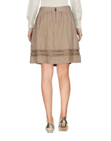 Фото 2 - Мини-юбка цвет песочный