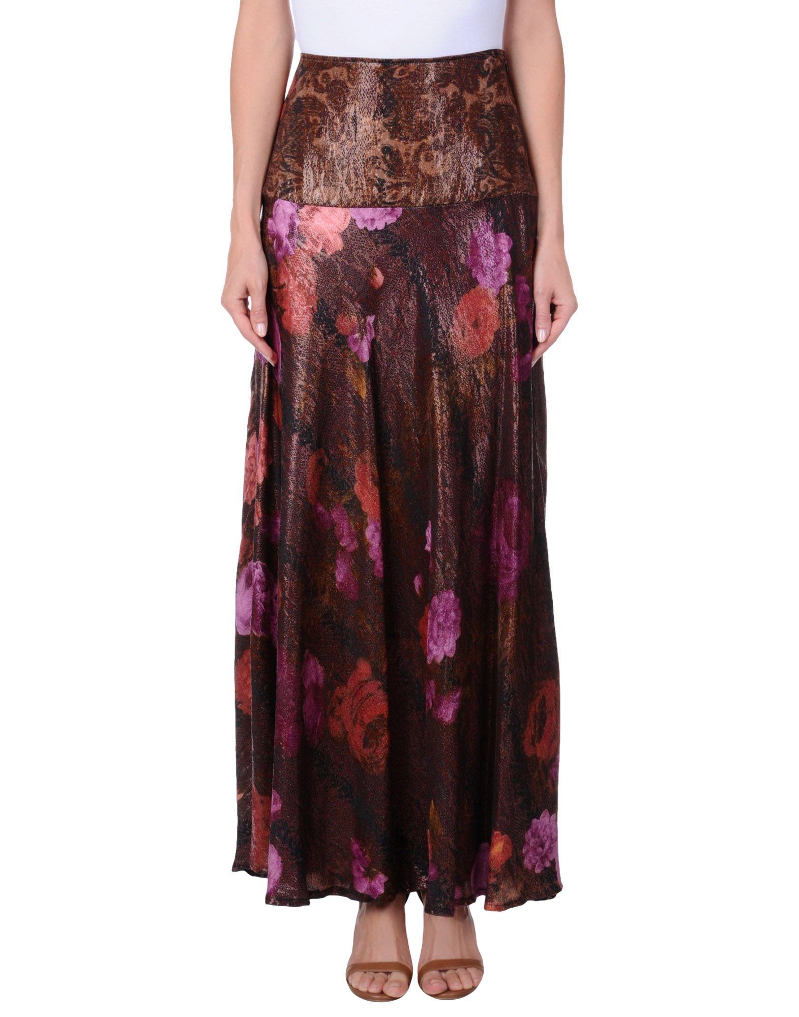 цена ELISA FANTI Длинная юбка онлайн в 2017 году