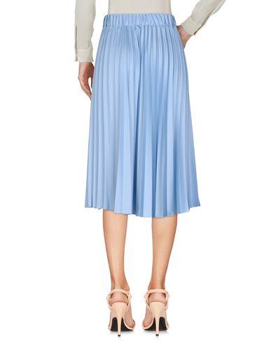 P.A.R.O.S.H. Damen Midirock Himmelblau Größe L 100% Polyester