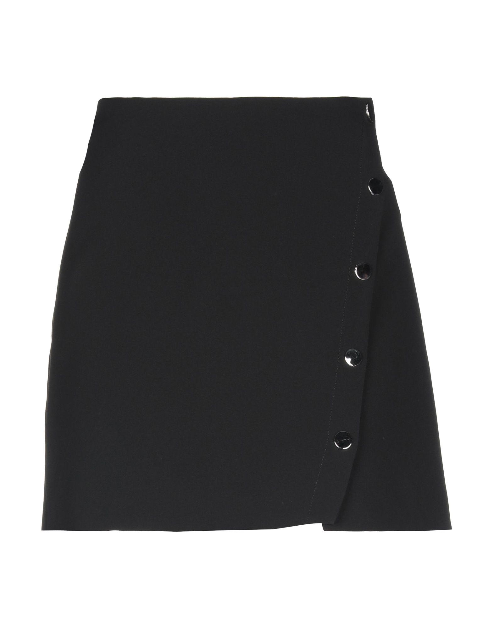 VERSACE Мини-юбка юбка с запахом на пуговицах