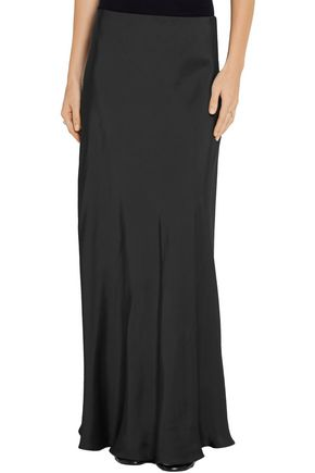 THE ROW Annistyan satin maxi skirt