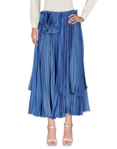 Купить Длинная юбка пастельно-синего цвета
