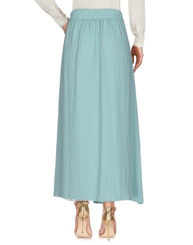 Фото 2 - Длинная юбка от LE FATE светло-зеленого цвета