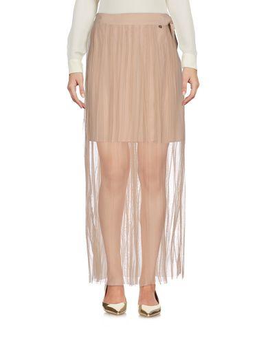 Купить Длинная юбка бежевого цвета