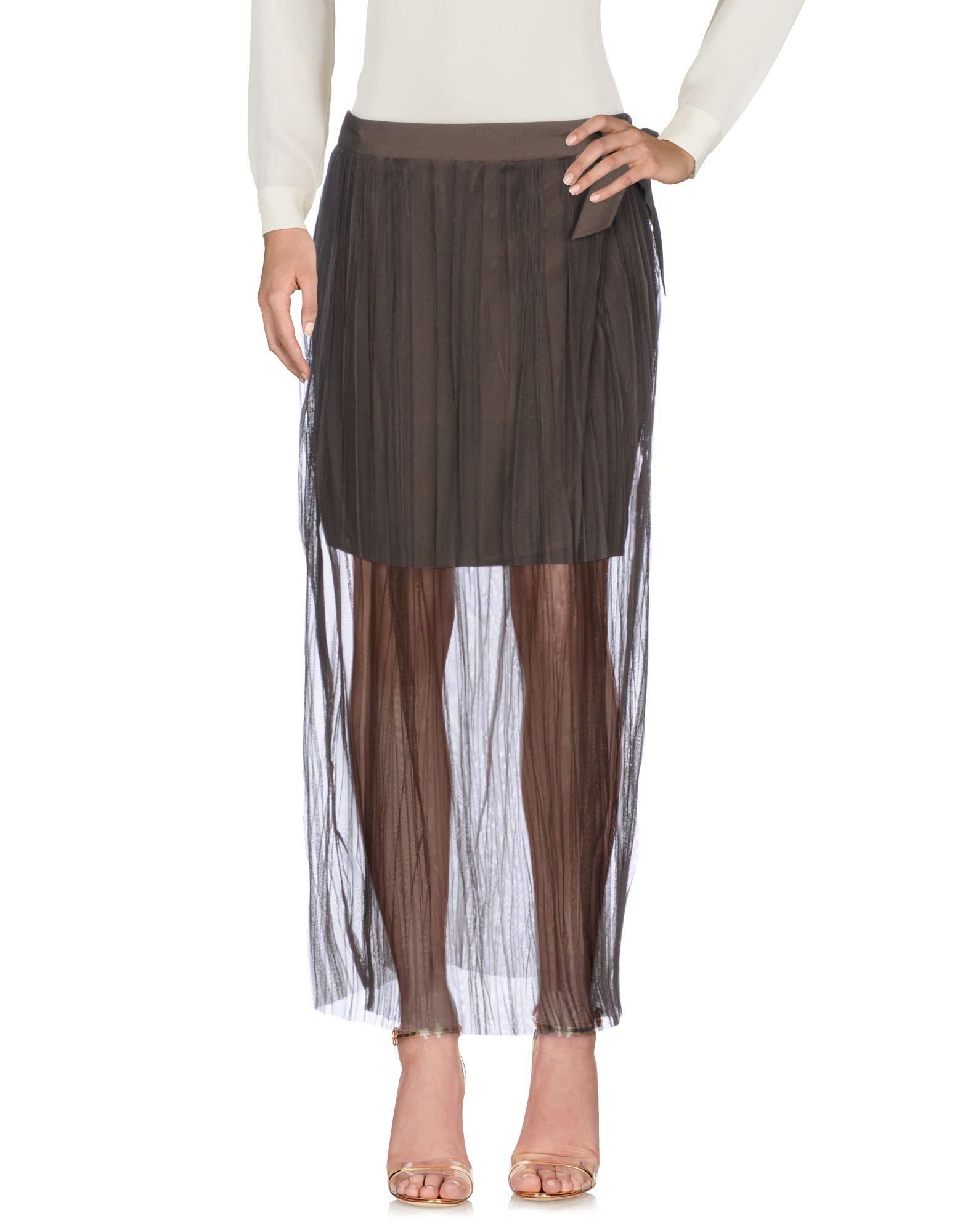 LIU •JO Длинная юбка юбка с запахом на пуговицах