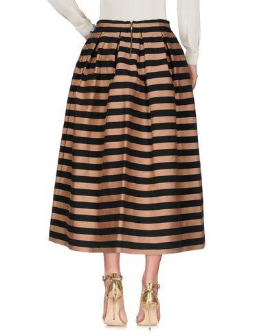 Фото 2 - Длинная юбка светло-коричневого цвета