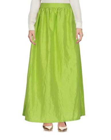 Фото - Длинная юбка от ODI ET AMO кислотно-зеленого цвета