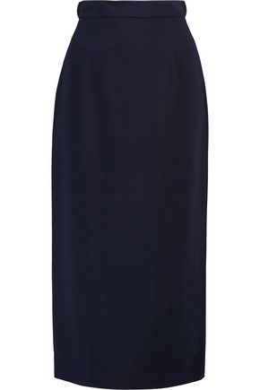 ANTONIO BERARDI Stretch-crepe skirt