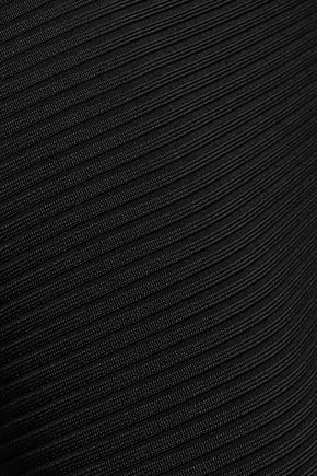T by ALEXANDER WANG Ribbed-knit skirt