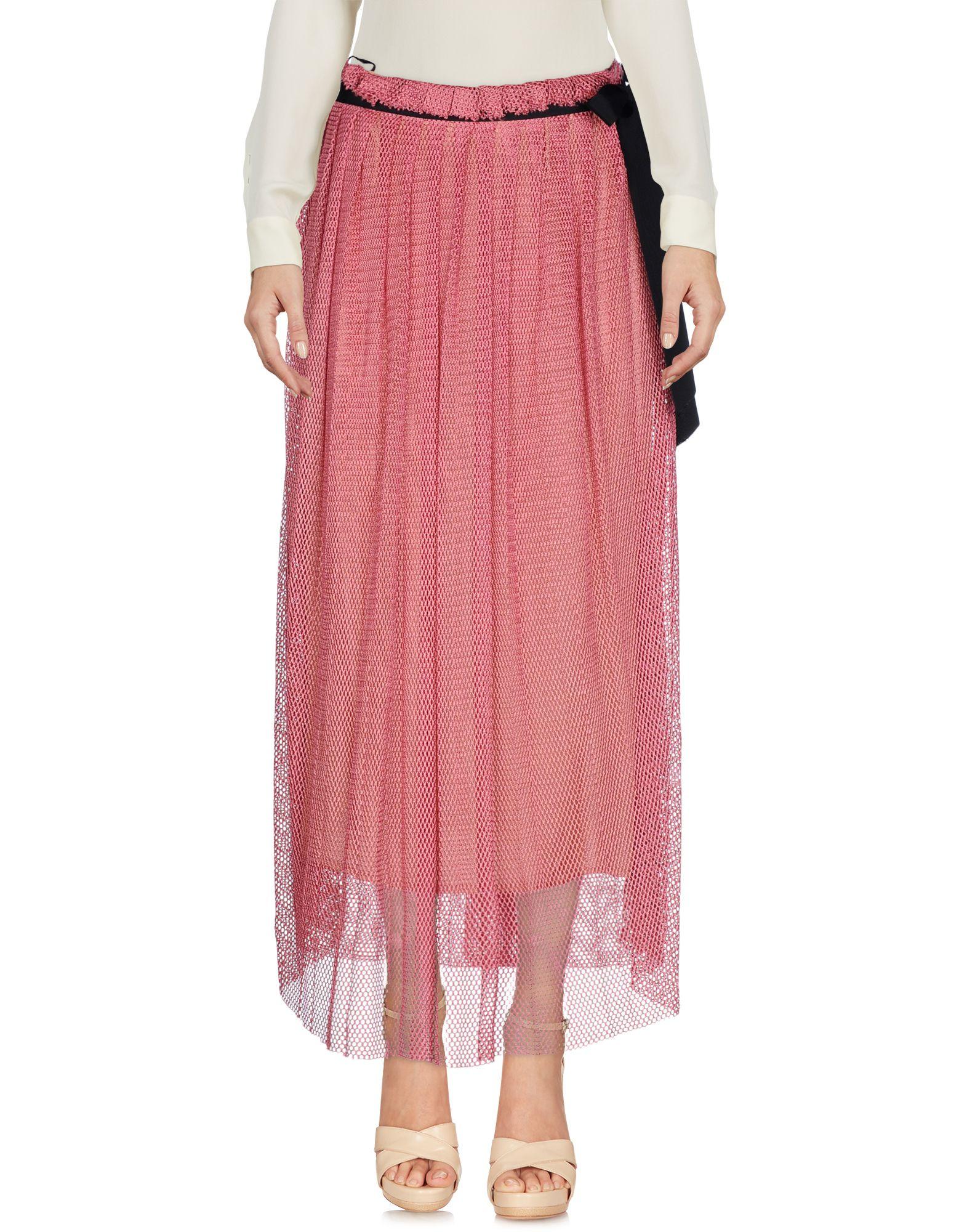 JUCCA Юбка длиной 3/4 moschino couture юбка длиной 3 4