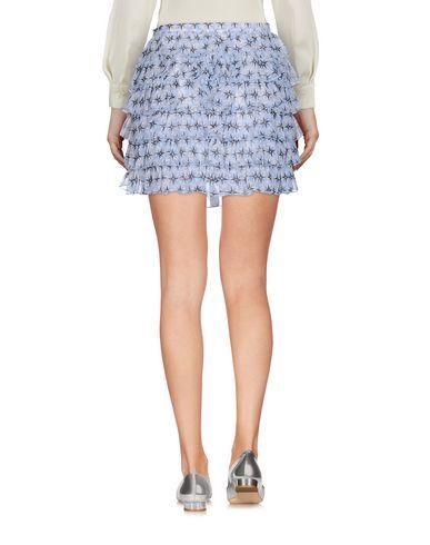 Фото 2 - Мини-юбка от JUCCA небесно-голубого цвета