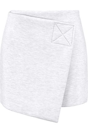 MARC BY MARC JACOBS Warp-effect bonded jersey mini skirt
