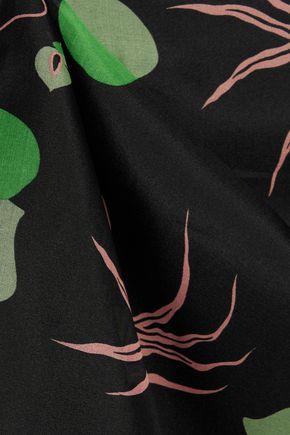 MARNI Printed silk-organza silk