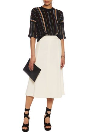 M MISSONI Paneled wool-blend skirt