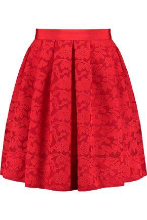 SANDRO Paris Embroidered lace mini skirt