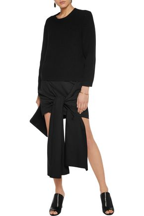 STELLA McCARTNEY Peggy draped wool skirt