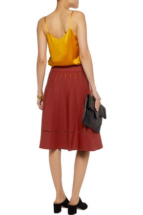 A.L.C. Nicole cutout stretch-knit skirt