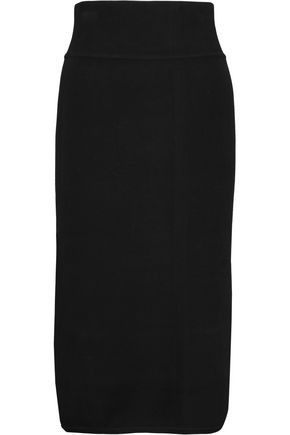 RAOUL Stretch-ponte pencil skirt