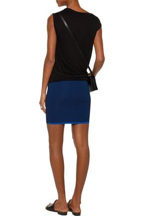 LA LIGNE Jacquard-knit mini skirt