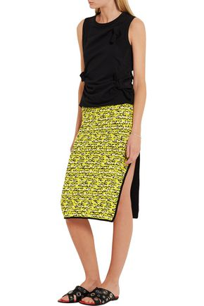 RAG & BONE Viola cotton-blend skirt