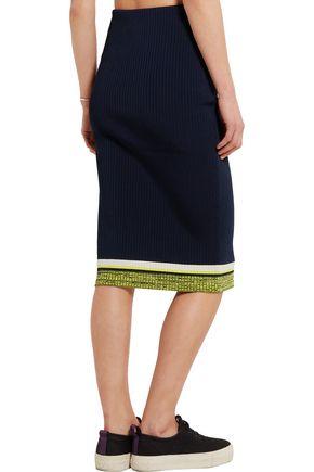 RAG & BONE Sheridan ribbed-knit skirt