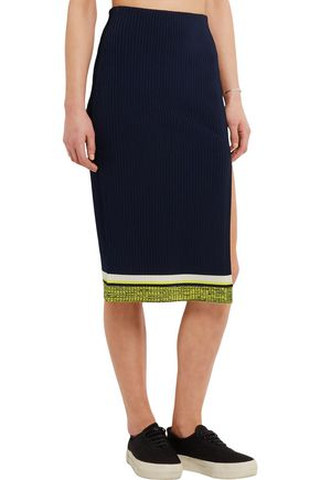 RAG & BONE Sheridan ribbed-knit skirt